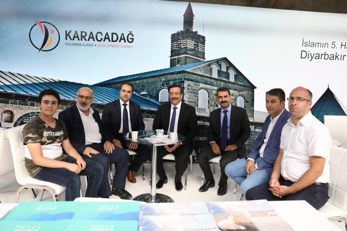Diyarbakır Tanıtım Günlerinde Ajansımıza Yoğun İlgi
