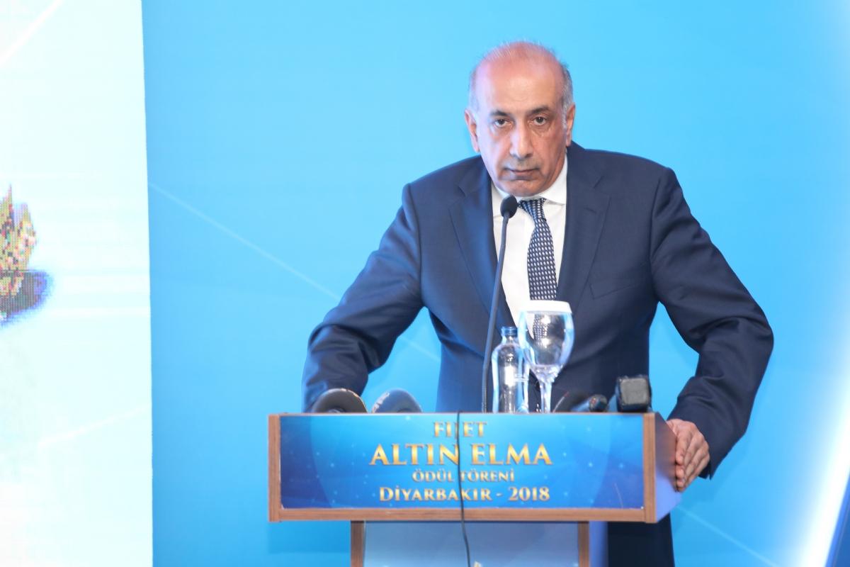 Turizmde Altın Elma Ödülü Törenle Diyarbakır'a Verildi