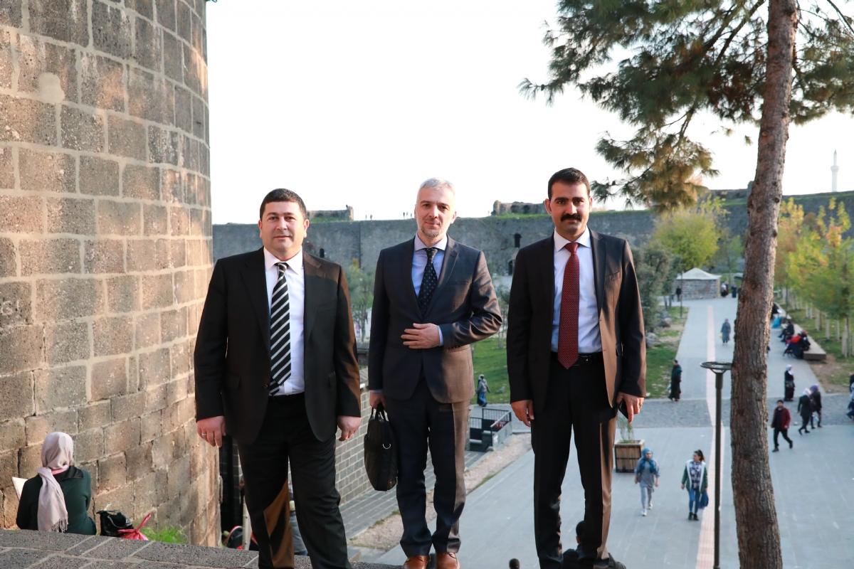 Genel Müdürümüz Yeniçeri'den Ajansımıza Ziyaret