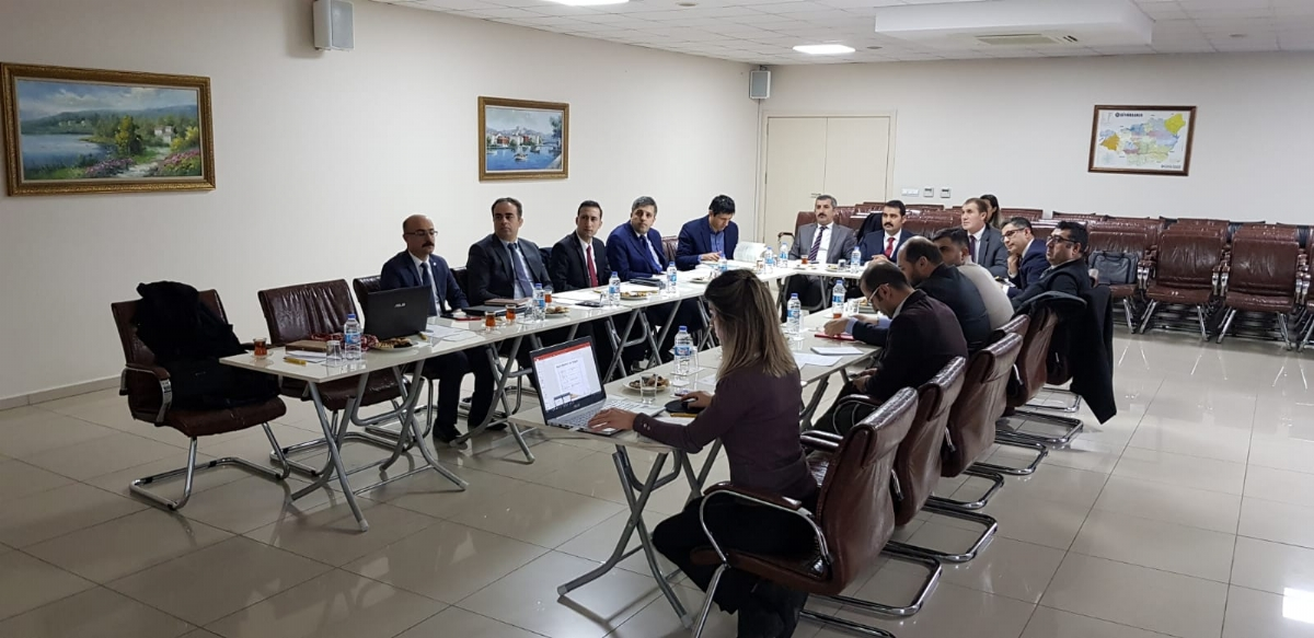 Sanayi ve Teknoloji Bakanlığı Diyarbakır İli 2019 Yılı Birinci Yerel Koordinasyon Toplantısı Gerçekleştirildi