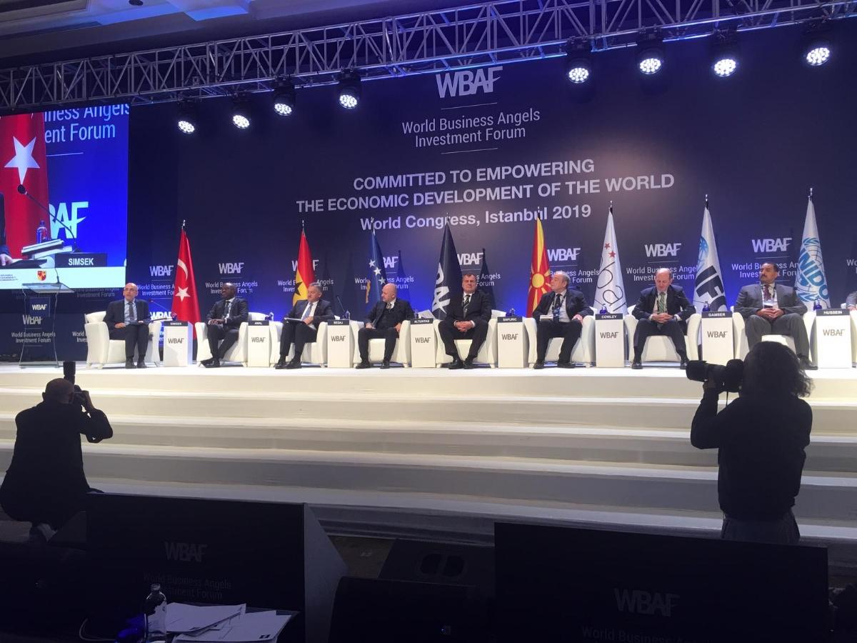 Gap Melek Yatırım Ağı ( Gapban ) Dünya Melek Yatırım Forumu ( Wbaf)'nda İlk Kez Sahneye Çıktı