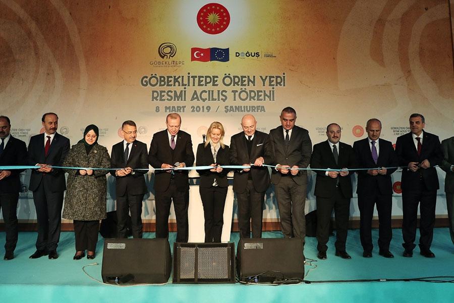 Göbeklitepe Ören Yeri, Cumhurbaşkanı Erdoğan Tarafından Açıldı