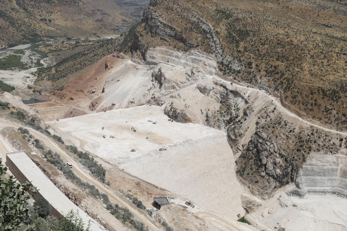 Silvan Barajı Proje Sahası'na Çalışma Ziyareti
