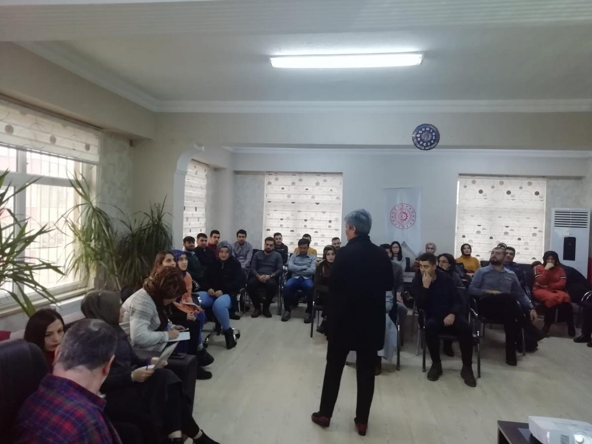 Ajansımızın Desteğiyle Şanlıurfa'da Özel Eğitim Öğrencilerine Yönelik Eğitim Verildi