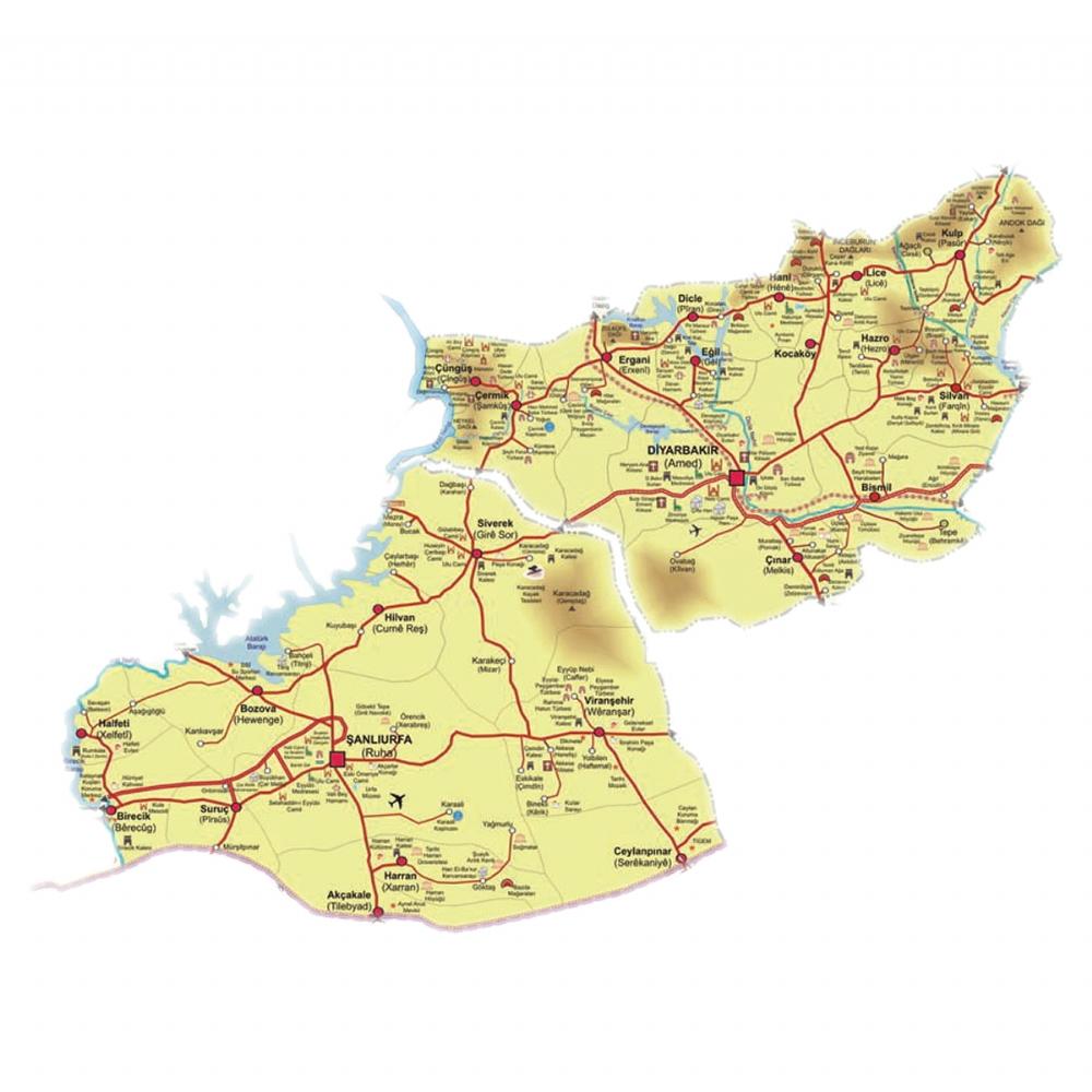 TRC2 Bölgesi İnteraktif Harita - Trc2 Yaşam Kalitesi