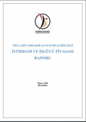 TRC2 ( Diyarbakır-şanlıurfa ) Bölgesi İstihdam ve İşgücü Piyasası Raporu