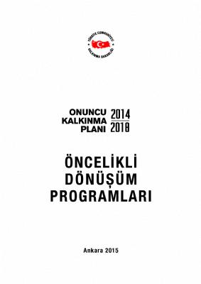 OKP Öncelikli Donüşüm Planları (2014-2018)